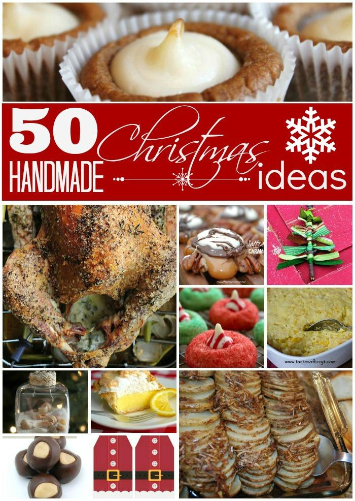 50 homemade christmas ideas made from pinterest for Homemade christmas candy gift ideas