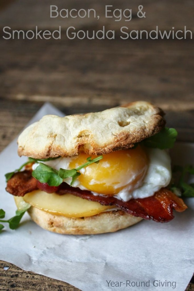 Bacon-Egg-Gouda-Sandwich