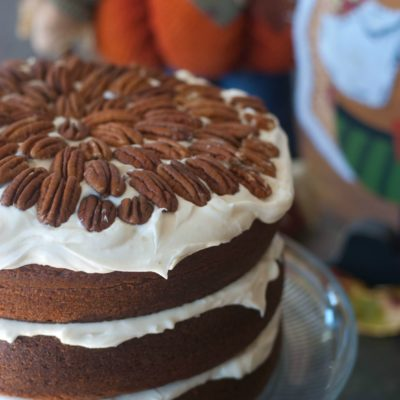 Clifton's Pumpkin Cake Recipe