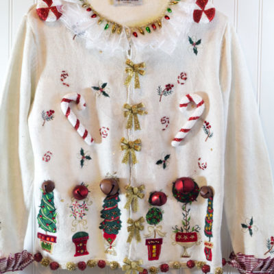 Ugly Christmas Sweater Off!