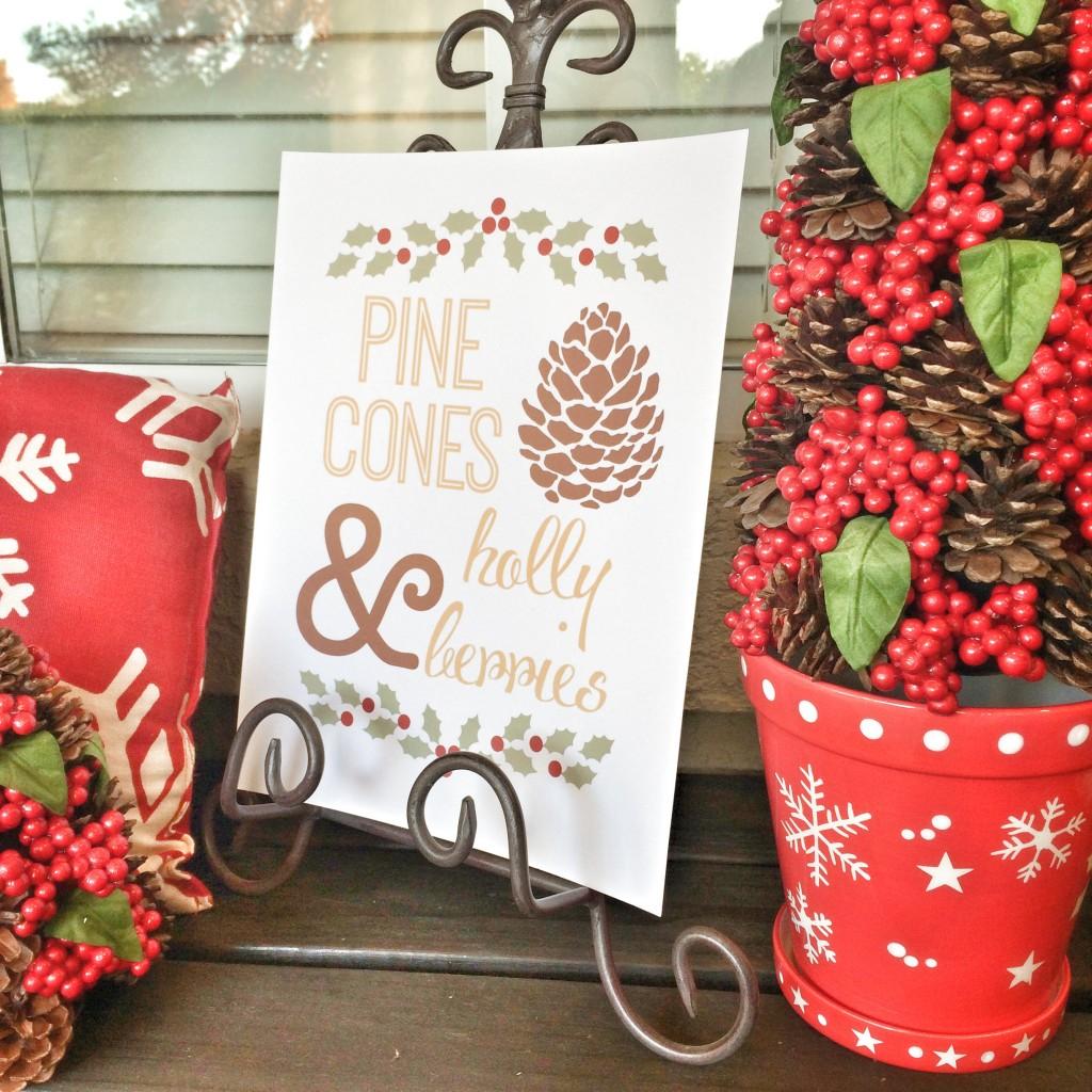 Pine Cones Printable 10