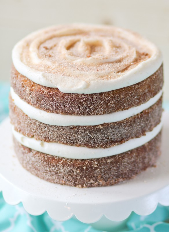 Pumpkin-Churro-Layer-Cake