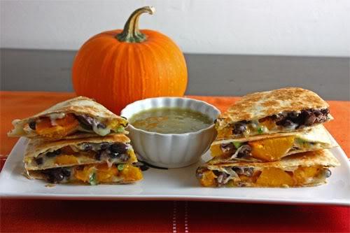 Pumpkin-Quesadillas