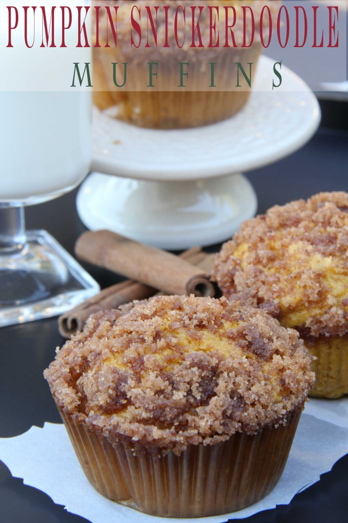 Pumpkin-Snickerdoodle-Muffins