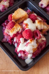 Rockin' Raspberry Bread Pudding - This is not your every day bread pudding. This is roll out the red carpet for a special occasion fabulous!