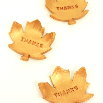 DIY Thanksgiving Leaves