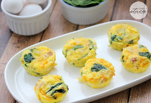 Spinach-Egg-Muffins