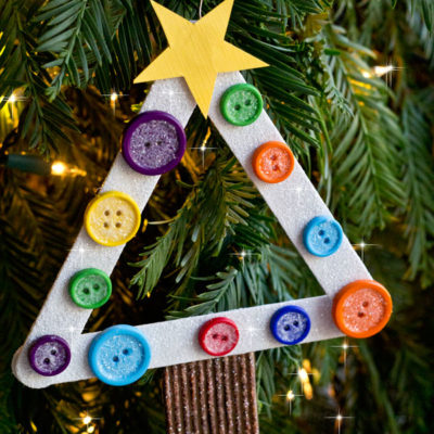 DIY Kids Christmas Tree Ornament