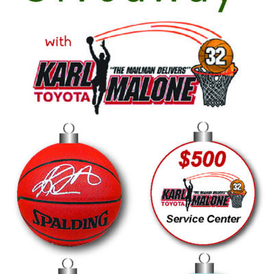 Spreading Holiday Cheer with Karl Malone Toyota Giveaway!