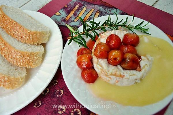Baked-Camembert-Honey-Roasted-Cherries