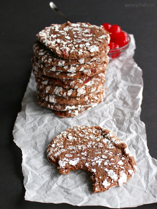 Cherry-Chocolate-Crinkles