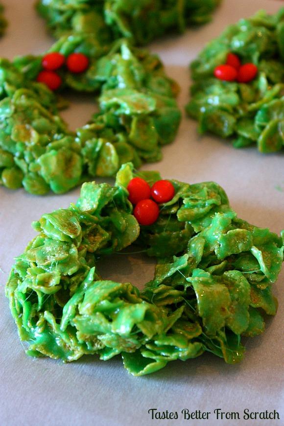 Cornflake-Wreaths