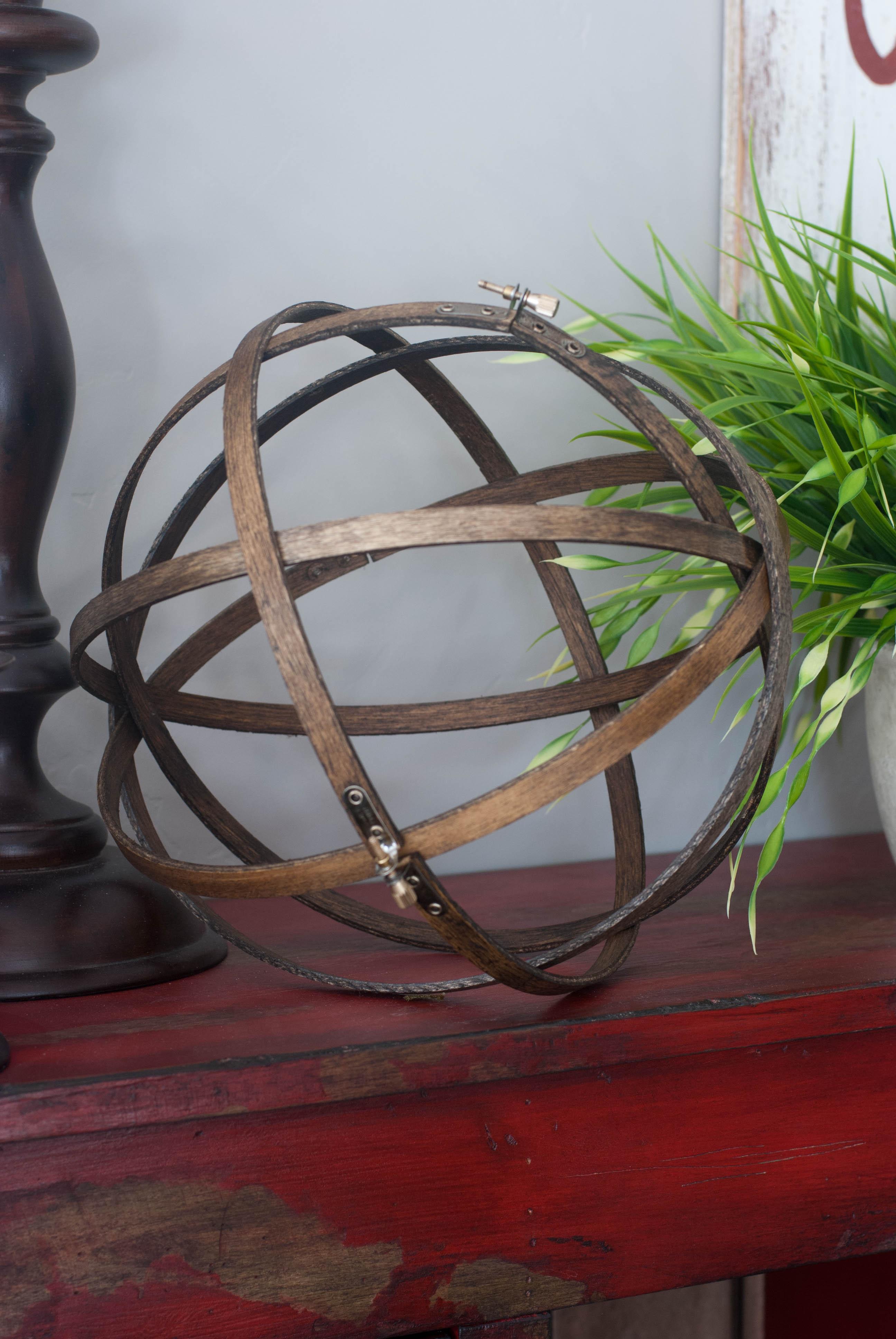 Diy embroidery hoop orb artzycreations