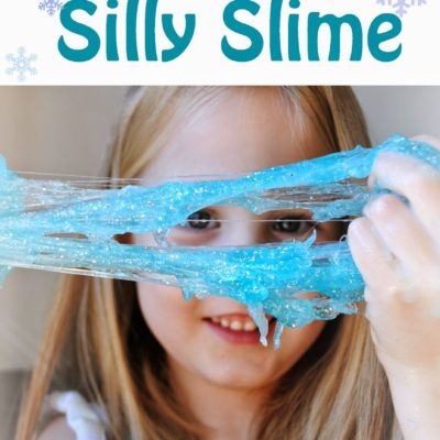 Homemade Frozen Slime