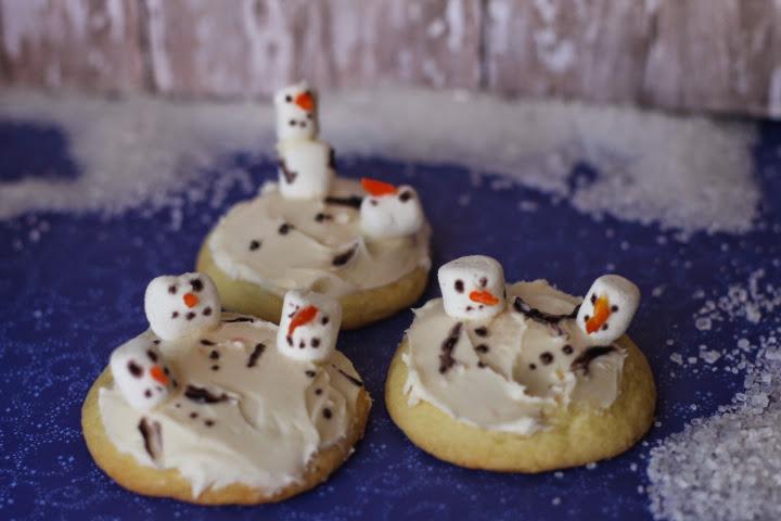 Melting-Snowmen-Cookies