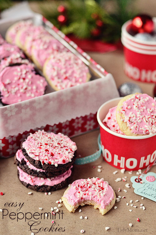 Peppermint-Buttercream-Cake-Mix-Cookies