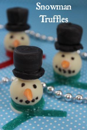 Snowman-Truffles
