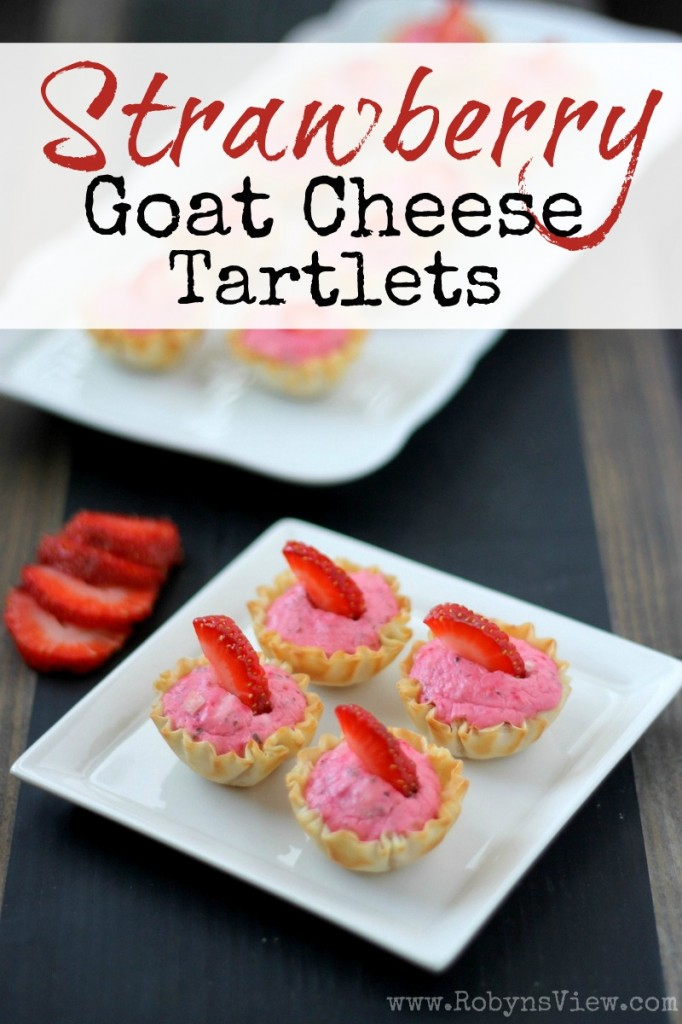 Strawberry-Goat-Cheese-Tartlets