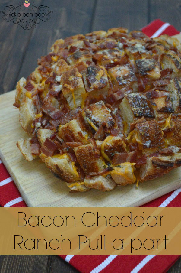 Bacon Cheddar Ranch Pull-a-part