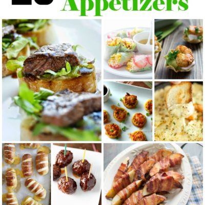 Party Time!  26 Appetizers for Your Next Gathering
