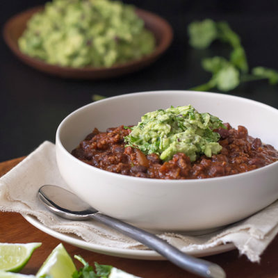 Beef and Black Bean Chili Recipe