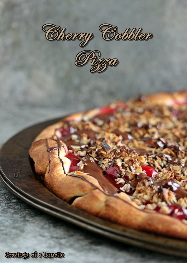 Cherry Cobbler Pizza by Cravings of a Lunatic 7