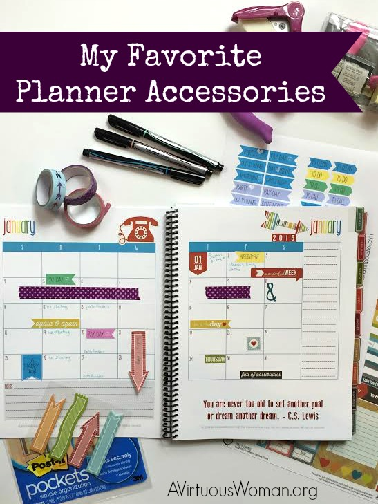 Favorite-Planner-Accessories