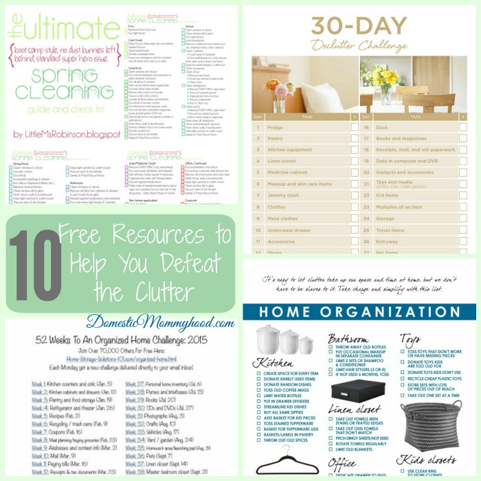 Free-Clutter-Busting-Resources