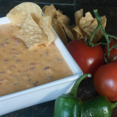 RoTel and Velveeta Queso Dip