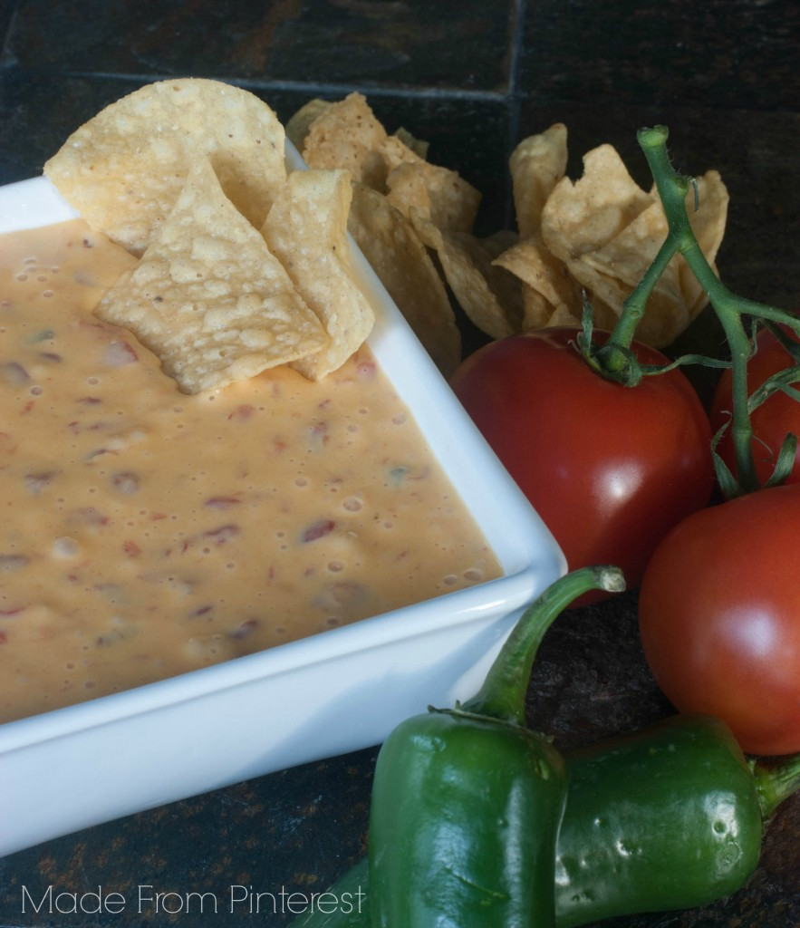 Ro*Tel and Velveeta Queso Dip. THEE best and easiest queso ever!