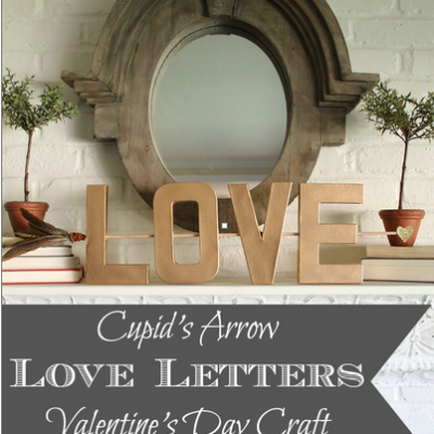 Cupid's Arrow Love Letters