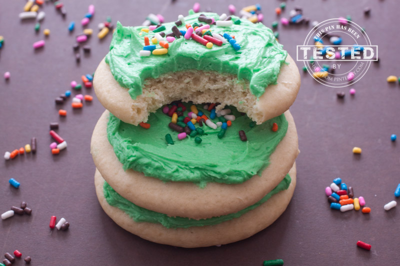 These delicious, soft, Lofthouse style sugar cookies are, dare I say it, better than the original!