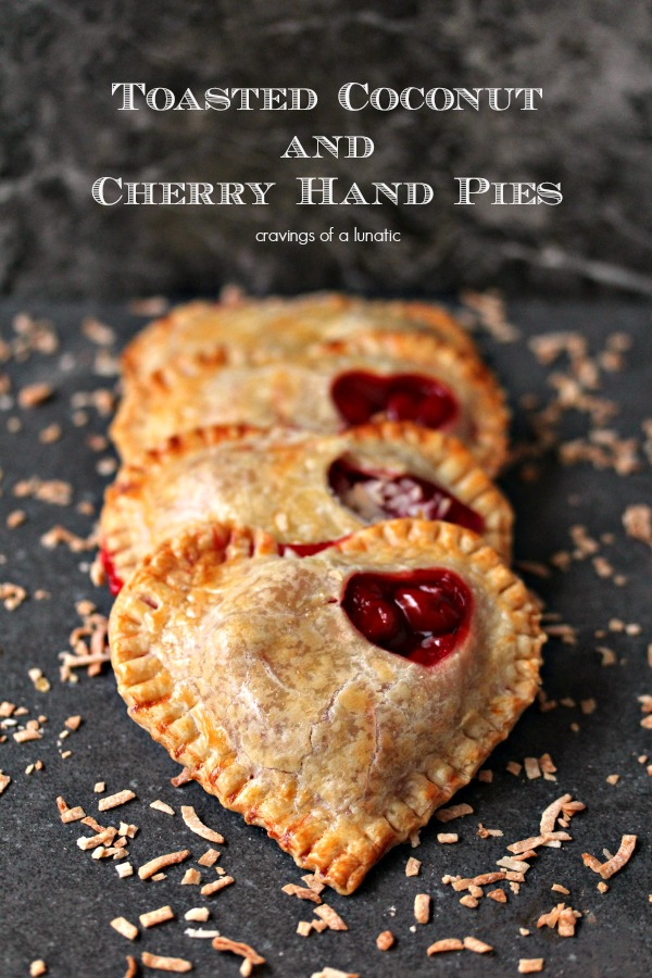 Toasted Coconut and Cherry Hand Pies 3