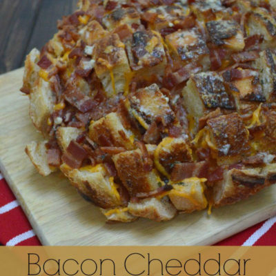 Bacon Cheddar Ranch Pull-a-part Bread