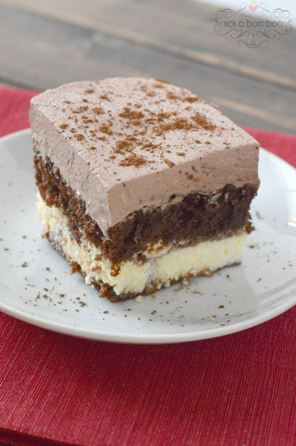 Chocolate Italian Cake is sure to be a family favorite!