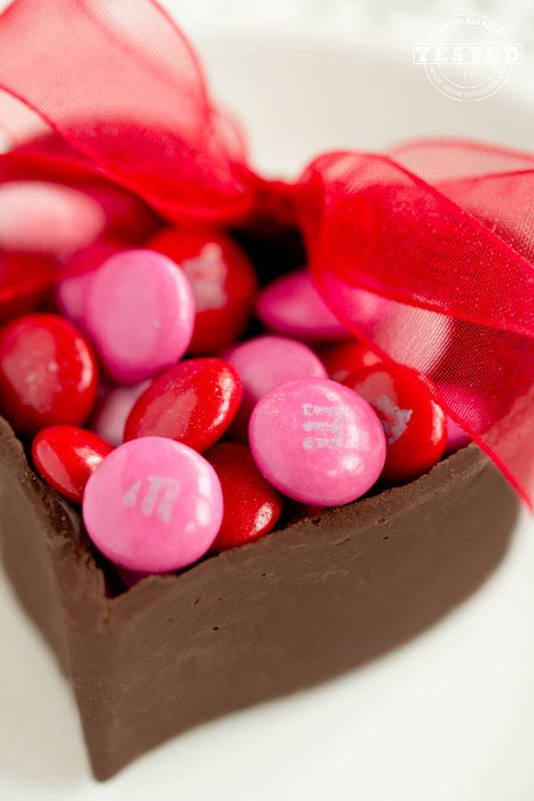 Chocolate Heart Cups Made From Pinterest