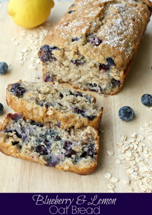 Lemon Blueberry Oatbread by Penney Lane Kitchen