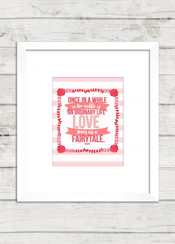 Life-Love-Fairytale-Printable