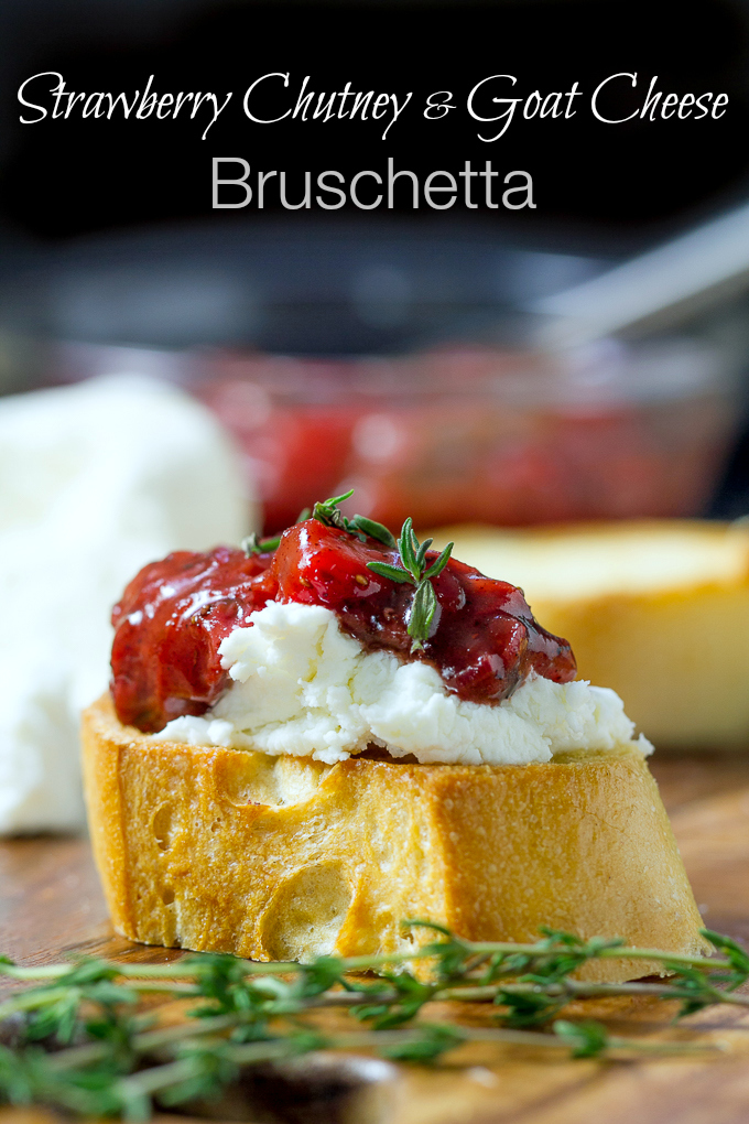 Strawberry-Chutney-with-Goat-Cheese-Bruschetta