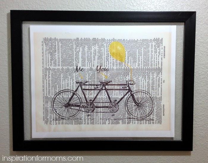 Tandem-Bike-Art-Print