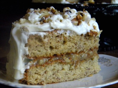 old fashioned banana cake from restlesschipotle.com