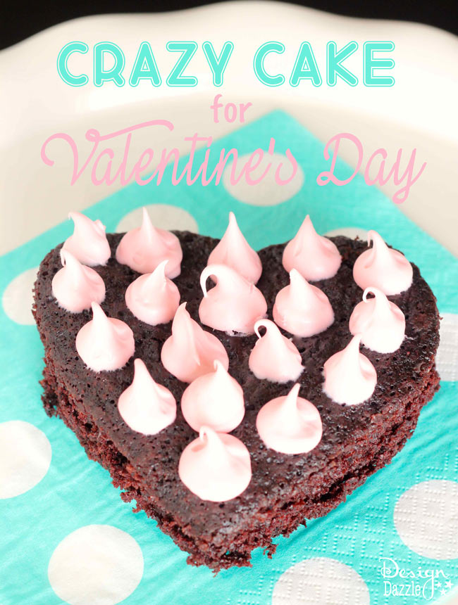 This delicious crazy cake recipe is a crowd favorite! Adorable and easy to make.