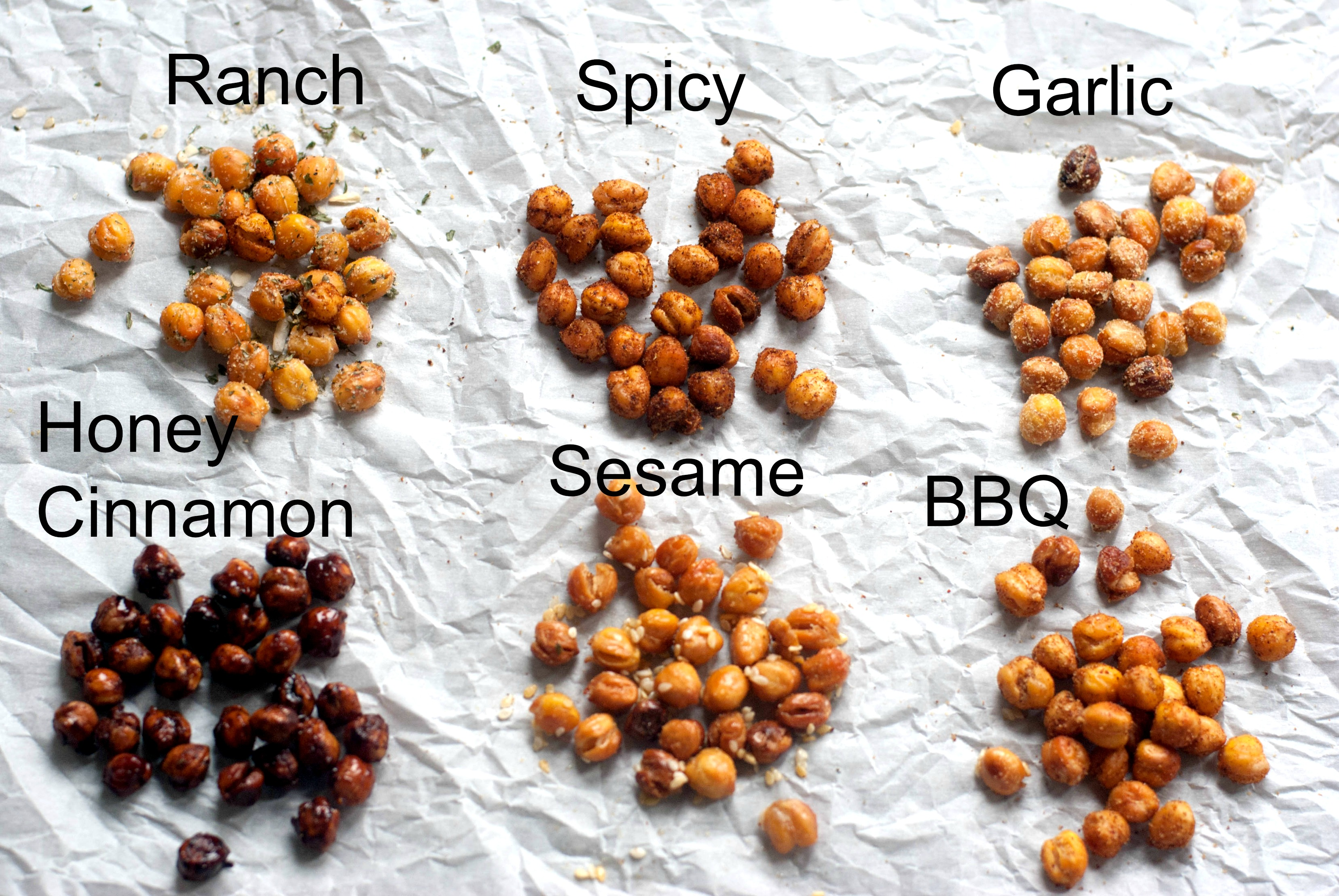 Roasted Chickpeas Recipe - TGIF - This Grandma is Fun