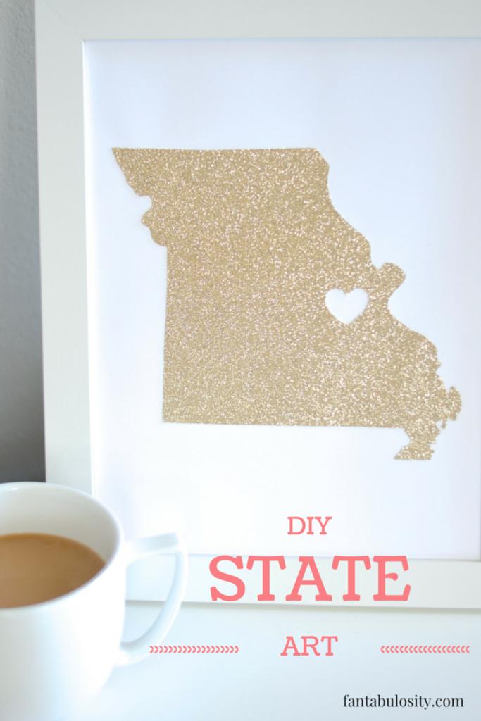 DIY State Art