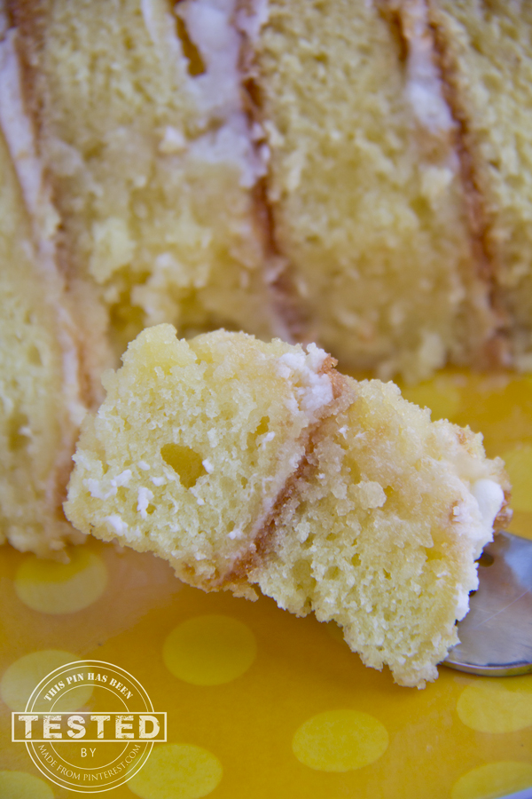 Lemon Cake With Only Lemon Juice