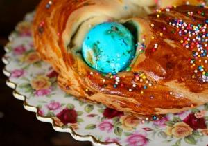 easter bread is a sweet coffee cake recipe