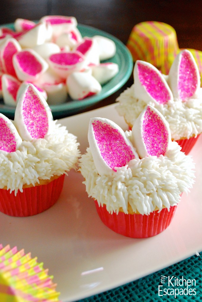 Easter Bunny Cupcakes Tgif This Grandma Is Fun
