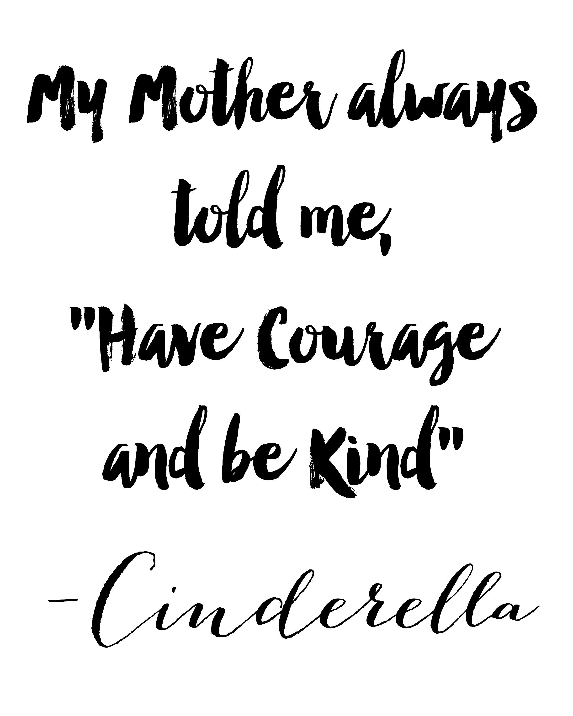 Cinderella Quotes Amazing Heidi Swapp Minc Applicator And Free Cinderella Printable  Tgif