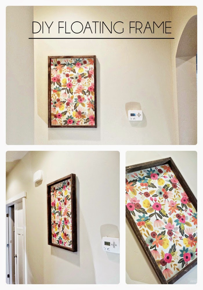 diy floating frame tgif this grandma is fun