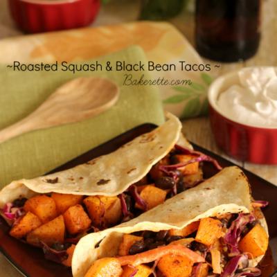 Roasted Squash Tacos